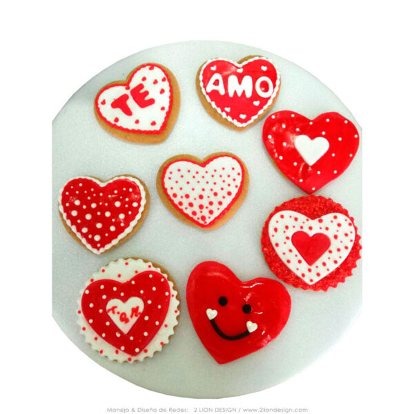 GALLETA X4 SAN VALENTIN